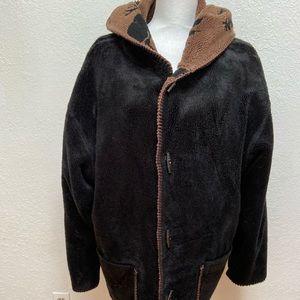 Denali heavy jacket with hood.